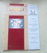 GOLD TECHNOLOGY JEWELRY NICKEL ALLERGY CADMIUM FREE GOLD SOLDER ALLOYS 1996