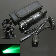 UltraFire WF-501B CREE Green light LED 1Mode Flashlight Torch + Mount + Holster