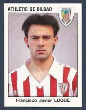 PANINI FUTBOL 93-94 SPANISH -#054-ATHLETIC DE BILBAO-FRANCISCO JAVIER LUQUE