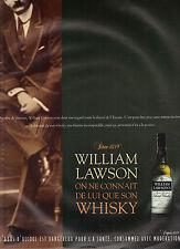 PUBLICITE ADVERTISING 1999 WILLIAM LAWSON  whisky