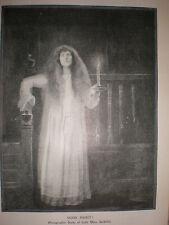 Printed art photo Lady Mary Sackville 1900