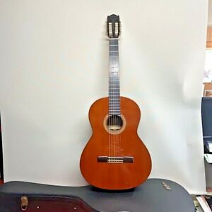 K.Yairi Classical Guitar Model No Y150 With Hardcase Made in Japan Very Rare QQ