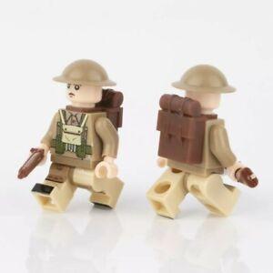 ⭐Lego WW2 Bataille de Normandie Soldats Anglais Militaire Armée Military UK ⭐