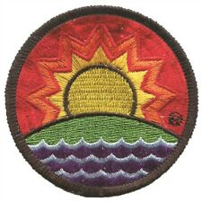 Solar Future Patch - Solar Powered Home and Business, Vintage Design (Iron on)