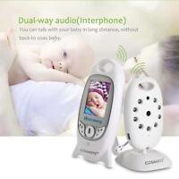 2.4GHz Wireless Digital Baby Monitor Camera Audio Video Night Vision Alarm EU FT