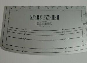 Sears EZY-HEM by Edna Bryce Bishop No. 69361 Sears Roebuck & Co., U.S.A.
