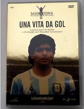 D7 - MARADONA - UNA VITA DA GOOL - DVD - G. Minà - Rai Trade - Gazzetta