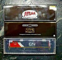 ATLAS HO 1/87 CN CANADIAN NATIONAL DASH 8-40CW RD # 2199 DCC & SOUND FS 10002312