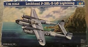 Trumpeter 02227 1/32 Scale, P-38L-5-LO Lighting, Open Box, Read my Add Carefully