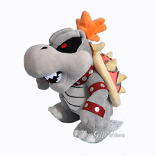 "Super Mario 3D Land Plush Doll Stuffed Toy Dry Bones Bowser Koopa 10"""