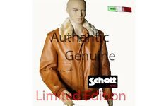 SCHOTT N.Y.C. A2 Limited Edition Giacca in Pelle Bomber Size US 54 mod 184