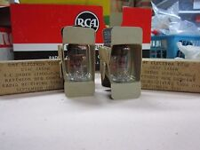 Raytheon Set of Two 6As6W Vacuum Tubes Hickok 800A Tested Matched Strong