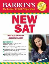Barron's New SAT by Sharon Weiner Green and Ira K. Wolf 2015, Paperback