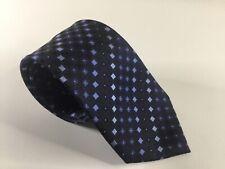 Kenneth Cole Reaction KC New York Neck Tie Silk Necktie New Neckwear NWOT Blue
