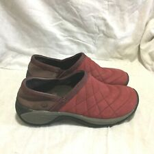 MERRELL AIR CUSHION SLIP ON CLOGS MULES SHOES MULTI COLOR ( SIZE 6.5 ) WOMEN'S