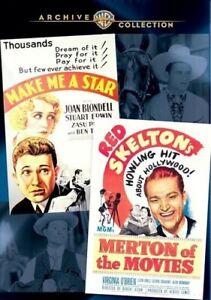 Make Me a Star / Merton of the Movies [New DVD] Black & White, Full Frame, Mon