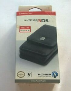 BRAND NEW Leather 3DS Premium Case Official Genuine Nintendo Executive   DS