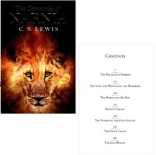 CHRONICLES OF NARNIA 1-7 - COMPLETE ILLUSTRATED PAPERBACK Book Collection NEW UK