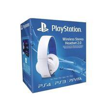 Sony sans fil Stéréo 2.0 Gaming 7.1 son surround Casque pour PS4 Blanc