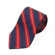Brooks Brothers Blue Repp Striped English Silk Tie 12485