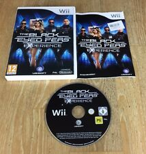 NINTENDO Wii GAME-THE BLACK EYED PEAS EXPERIENCE * Gratis UK P & p *