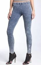 JOE'S JEANS THE LEGGING JEGGINGS MINERAL ACID WASHED S SKINNY STRETCH ANKLE ZIP
