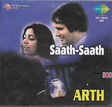 SAATH SAATH - ARTH - 2 IN ONE FILM BOLLYWOOD SONGS CD - FREE UK POST