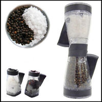 Duet Pepper & Salt Mill Grinder Apollo Kitchen Table Pre-Filled New Easy Crusher