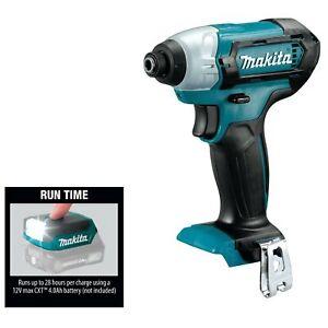 MAKITA DT03Z 12V MAX CXT Cordless Impact Driver & ML103 LED Flashlight TOOL ONLY