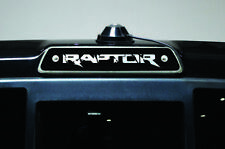 "Vinyl Decal 3rd Brakelight ""RAPTOR"" Wrap for Ford F-150 Raptor SVT 2010-14 Black"