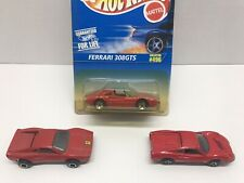 Red Ferrari Diecast Lot Of 3 ErtL Hot Wheels Majorette