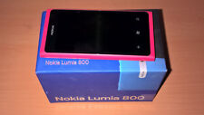 nokia lumia 800 magenta limited edition con cover magenta inclusa