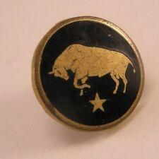 Bull Star Vintage Lapel Pin/Tie Tack sorority fraternity pledge gift