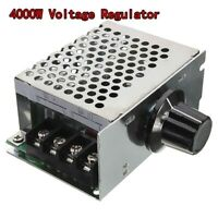 AC 220V 4000W SCR Voltage Regulator Dimmer Motor Speed Controller Module + Shell