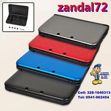 COVER CASE SCOCCA DI RICAMBIO PER NINTENDO 3DS XL COLORE NERO SHELL 3DSXL