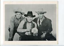 The Three Mesquiteers 8x10 B&W promo still WESTERN