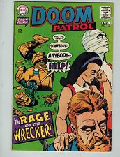 The Doom Patrol #120 (Jul-Aug 1968, Dc)! Fn6.0+! Silver age Dc beauty! Look!