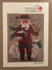 Santa 2019 The Prairie Schooler Counted Cross Stitch Chart Pamela Byrd Smith