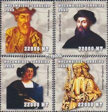 Mosambik 2516-2519 postfris MNH 2002 Persoonlijkheden