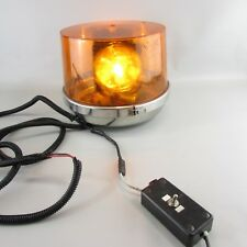 VTG large Sireno 44660 (Dietz 211) 12 V Amber Rotating Emergency Light - WORKS