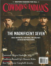 Cowboys and Indians Magazine Oct 2016 Magnificent Seven