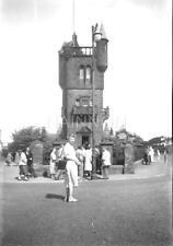 Original photo negative - National BURNS MEMORIAL at MAUCHLINE - Ayrshire
