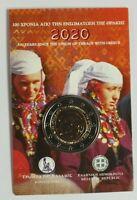 """Coincard Griechenland 2020 mit 2 Euro Gedenkmünze """" Thrakien """"   BU"""