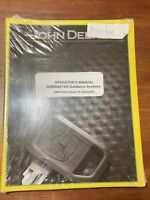 John Deere Greenstar Guidance Systems Operator's Manual