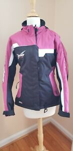 SKI-DOO BRP Ladies X Team Snowmobile Ski Jacket Women's XS S WATERPROOF TEFLON