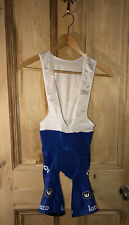 Vermarc Quickstep Blue Bib Shorts Small