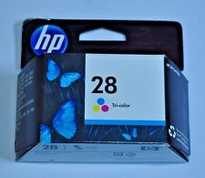 New Sealed Box Genuine OEM HP 28 C8728AN Tri-Color Ink Expired July 2012
