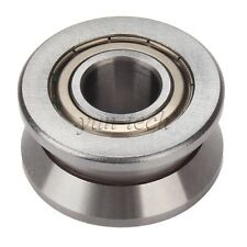 15x38x17mm Steel V Groove Ball Bearing Roller Guide for Pulley Wheel Roller