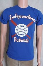 Vtg 1990 Independence Patriots Hs West Virginia baseball State champs t shirt S