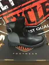 Harley Davidson Women's Cinder Boots D87167 Black retail $152.00 NIB Size 8.5